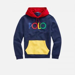 Polo Ralph Lauren Logo Double-knit Hooded Sweatshirt 710842894001