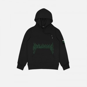 Wasted Paris Fire Cult Hoodie FW21WPHFC-BLK