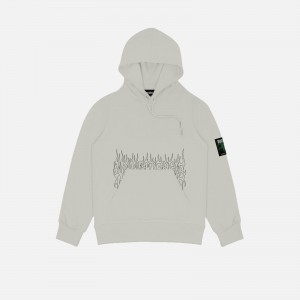Wasted Paris Fire Cult Hoodie FW21WPHFC-GRY