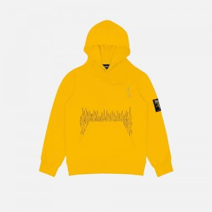 Wasted Paris Fire Cult Hoodie FW21WPHFC-YLL