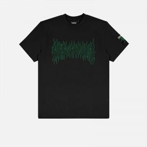 Wasted Paris Fire Cult T-Shirt FW21WPTSFC-BLK
