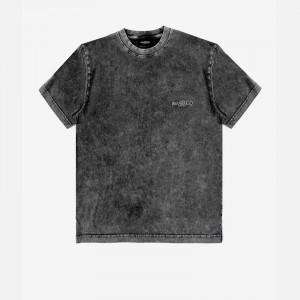 Wasted Paris Faded Signature T-Shirt FW21WPTSFS-BLK