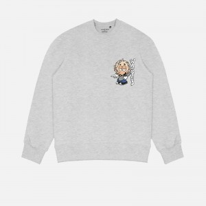 Wasted Paris X Roockie Vicent Milou Crew Neck FW21WPCNRVM-GRY