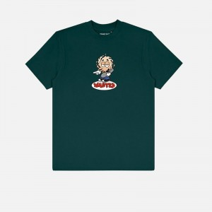 Wasted Paris X Roockie Vicent Milou T-Shirt FW21WPTSRVM-FGRN