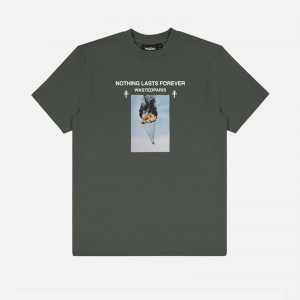 Wasted Paris Nothing Last T-Shirt FW21WPTSNL-GRN