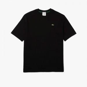 Lacoste L!ve Loose Fit Cotton T-shirt TH9162-031
