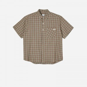 Polar Mitchell Flannel Shirt PFW21MFS-Brwn