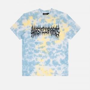 Wasted Paris Fire Bridge Tie & Dye T-Shirt FW21WPTTDFB-YLBL