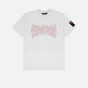 Wasted Paris Fire Cult T-Shirt FW21WPTSFC-WTH