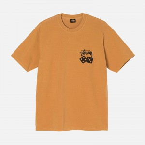 Stüssy Dice Pigment Dyed Tee 1904721-COP