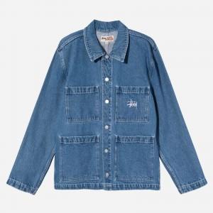 Stüssy Denim Chore Jacket 115570-BLU