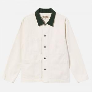 Stüssy Cord Collar Canvas Chore Jacket 115592-BON