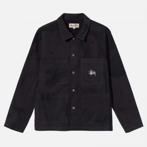 Stüssy Venus Chore Jacket 115600-BLAC