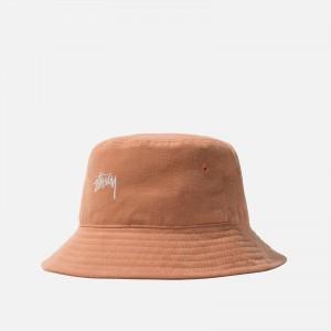 Stüssy Stock Bucket Hat 1321050-TAN
