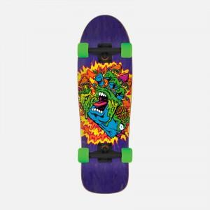 Santa Cruz Toxic Hand Shaped Cruzer Cruiser Skateboard 11116439