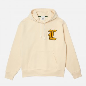 Lacoste Live Unisex L Badge Loose Fit Hoodie SH7288-056