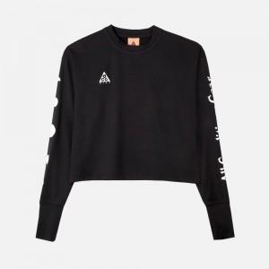 Nike ACG W Long-Sleeve UV Top CK6882-011 Black/ Summit White