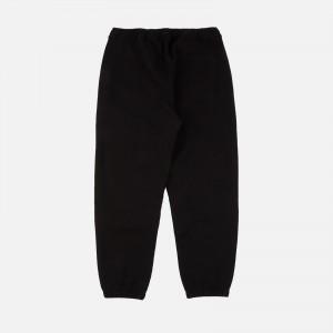 Maharishi Panther Patch Sweatpants 9434-Black