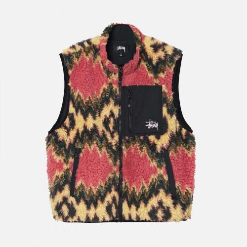Stussy Fillmore Sherpa Vest 118436 MUS