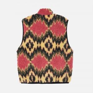 Stüssy Fillmore Sherpa Vest 118436-MUS