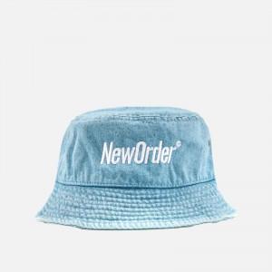 Pleasures X New Order Republic Bucket Hat P21NO015-DENIM