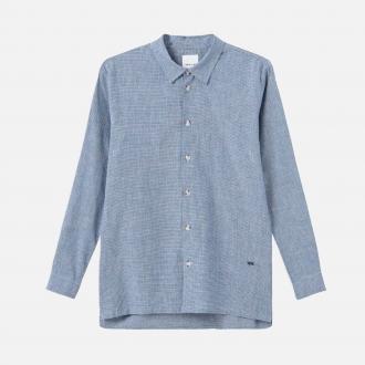 Wood Wood WW Andrew shirt 11915310-1158-BLUE